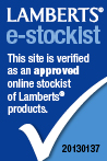 Lamberts Approved e-stockist